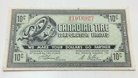 1962 Canadian Tire Ten 10 Cents CTC-7-B1-T Paper Money Bonus Banknote C933