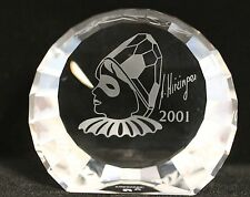 Swarovski Paperweight Shield Harlequin 60mm Nr.278714 with Packaging