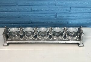 Votive Candle Holder Long  5 Candles Home Decor Decorating Display Romantic