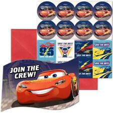 Disney Cars 3 Save The Date Invitations 8 Per Package Birthday Party Supplies