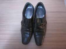 LADIES GABOR ANKLE SHOES BROWN LEATHER SIZE 5
