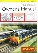 HORNBY TRAIN SET OWNER'S MANUAL Ex TRAIN SET BIN £1.99  TYPE A