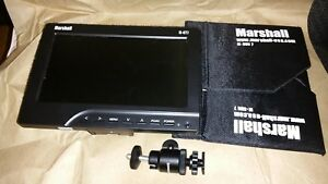 "Marshall M-CT7 on-Camera 7"" HDMI Field LCD HD Video Monitor w/AA Battery Adapter"