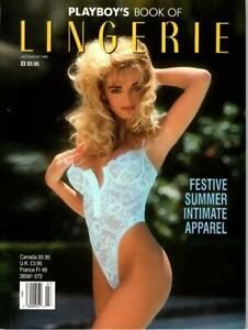 Playboy Book of Lingerie July August 1992 excellent free post