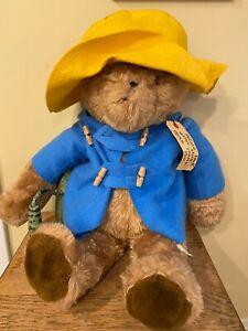 RARE LARGE Vintage 1975 Paddington Bear Plush by Eden Toys Inc.