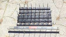 Vintage Gates Thermoid Fan Belt Display Coat Rack Advertising Hanger Sign Lot