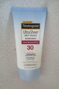Ultra Sheer Dry-touch Sunscreen SPF 30 Lightweight New