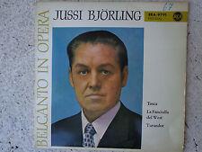 Jussi Björling-belcanto in opera-Vinyl Single 7 inch NEAR MINT-RCA