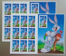 Looney Tunes Bugs Bunny 32¢ USPS 20 Postage Stamps 2 Sheets New 1997