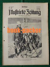 BERLINER ILLUSTRIRTE ZEITUNG 1915 Nr. 12: Feld=Uniformen der deutschen Armee