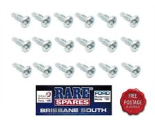 HOLDEN HQ HJ HX HZ SEDAN/WAGON FRONT & REAR DOOR OPENING SCUFF PLATE SCREWS