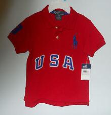 Ralph Lauren Baby-T-Shirts & -Polos für Jungen aus 100% Baumwolle