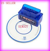 Super Mini ELM327 V1.5 Bluetooth OBD2 OBD-II Car Auto Diagnostic Scanner Tool