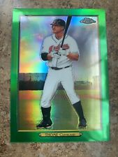JIM THOME 2020 Topps Series 2 TURKEY RED GREEN CHROME REFRACTOR #01/10 Indians