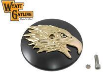 Wyatt Gatling Round Eagle Air Cleaner Cover Insert For Harley-Davidson