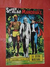 SUPER ALBO SPADA- MANDRAKE -N°92 c- DEL 1964 DA LIRE 120- SUPERALBO