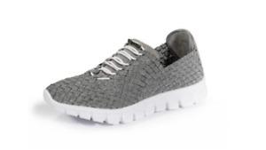 ZEE ALEXIS Danielle Pewter/White Bottom Sneakers Women's US sizes 6-11 NEW!!!