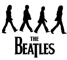 THE BEATLES VINYL DECAL STICKER CAR WINDOW LAPTOP GAME SYSTEM WALL