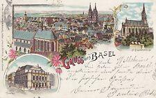 Basel, Farb-Litho, 1899