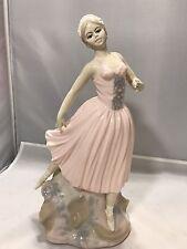 "Rex Valencia Fine Spanish Porcelain D'avila Ballerina Dancer Limited Edition 12"""