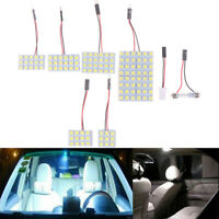 Car Interior 5050 LED White Light SMD Lamp Panel T10 Festoon Dome BA9S 12V 5W №.