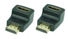 2 x 90° HDMI-Winkeladapter FullHD | 4K x 2K