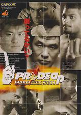 2003 CAPCOM PRIDE GP GRAND PRIX 2003 JP VIDEO FLYER