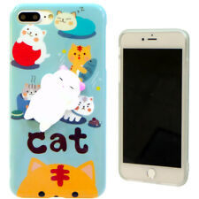 Custodia TPU flessibile MICIO CAT 3D cover SQUISHY per Apple iPhone 7 Plus 5.5""
