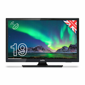 """Cello 19"""" Inch HD Ready LED TV with Freeview T2 HD and Built-in Satellite Tuner"""