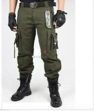 men's cargo millitary clothing Tactical Pants Outdoor Camo workwear TrousersSz