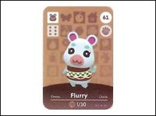 N. 61 (Flurry) di 72 amiibo NFC Mini Card/ANIMAL Crossing New Horizons