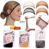 HOT Stretchable Mesh&Stocking Elastic Wig Hair Cap Net Unisex Wig Cap Hairnet LZ