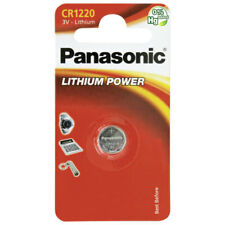 15 x Panasonic  Batterie CR1220 Lithium 3V Knopfbatterie CR 1220 Battery NEW