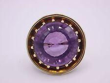 Magnifique ART DECO amethyst ring gold 585 punziert taille 64 tous les regards!