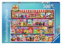 THE SWEET SHOP 500 PIECE JIGSAW PUZZLE RAVENSBURGER