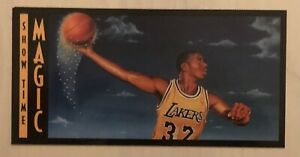 "EARVIN ""MAGIC"" JOHNSON  1993 Lakers Forum 25th Anniversary Insert #BC5 HOF"