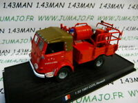 PDP20N voiture 1/50 DEL PRADO Pompiers du Monde : RENAULT CCFL 1981 Fontaines