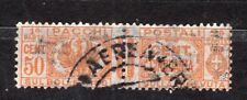 FRANCOBOLLI Italia Regno 1927-32 Pacchi Postali 50 c Intero SAS28