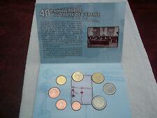 Coffret de la monnaie de PARIS - BU 40ème anniversaire du Traité de l'Elysée