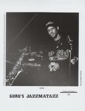 Guru's Jazzmatazz- Music Memorabilia Photo
