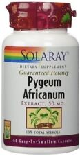 Pygeum Africanum Extract 50mg Solaray 60 Caps