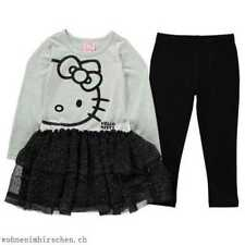 HELLO KITTY CHARACTER FRILL WITH LONG SLEEVES SIZE 9 - 10 RRP £22.99 CR082 JJ 04