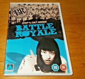 Battle Royale DVD Arrowdrome Arrow Video with Booklet Region 2