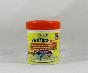 Tetra Funtips Tablets 165 Haft-Futtertabletten for All Aquarium Fish 0,08 €/ St