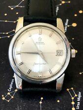Vintage 1962 Omega Seamaster men's watch, Rare original true PiePan dial