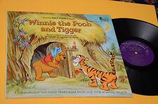 WINNIE THE POOH LP WALT DISNEY ORIG USA 1968 NM CARTONATO + LIBRO BOOK ! TOP