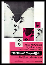 The Thomas Crown Affair McQueen Dunaway Repro Film Poster #2