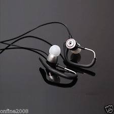 3.5mm In-Ear Clip On Sport W/ Mic Stereo Bass Earphone Jogging Headphone Earbuds