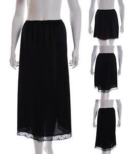 Waist Half Slip Underskirt Polyester Petticoat Skirt Multiple Lengths Available