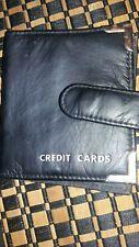 NEW credit card wallet black